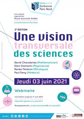 Une vision transversale des sciences: 3ème édition